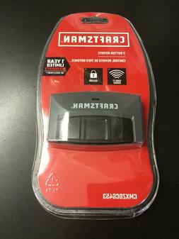Craftsman 3-Button Garage Door Opener Remote Control CMXZDCG