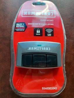 CRAFTSMAN 3-BUTTON GARAGE DOOR OPENER REMOTE CONTROL