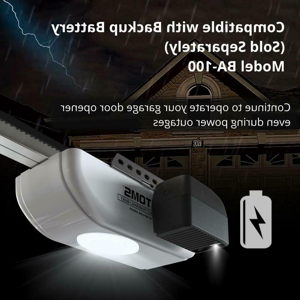 SkyLink 1/2 HP DC Motor Chain LED Remote Access