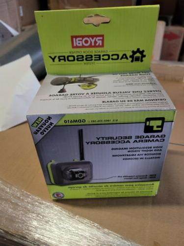 Ryobi Model GDM610 Garage Security Camera Motion Sensor Smar